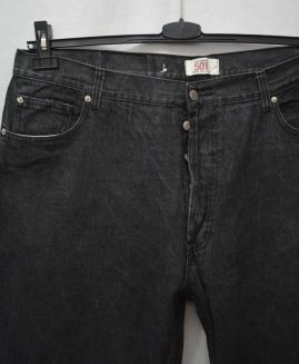Pantalon jeans  cu nasturi 42x34  LEVI S  STRAUSS 501