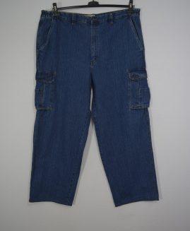 Pantalon jeans cargo marime 44x32 LIBERTY BLUES