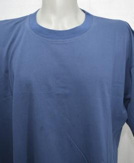 Tricou bumbac 4 XL Albastru