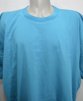 Tricou bumbac 4 XL Turcoaz