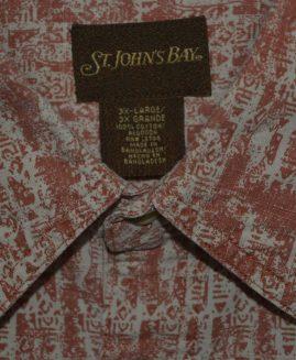 Camasa mineca scurta 3 XL  ST JOHN S  BAY