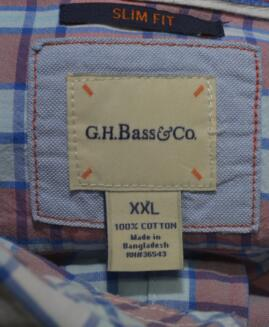 Camasa bumbac mineca lunga 2 xl   G.H. BASS & CO