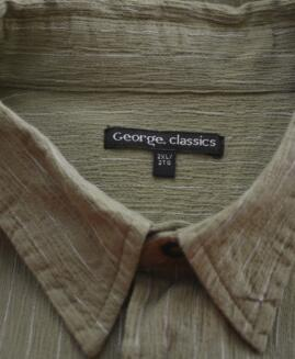 Camasa mineca scurta 2 xl american GEORGE CLASSICS