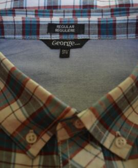 Camasa mineca scurta 2 xl american GEORGE