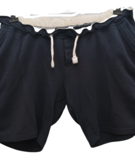 Pantalon scurt bumbac marime mare, marime xxxxl american, KARIBAN navy