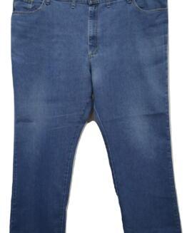 Pantalon jeans marime mare, 50 x 32 american, LEE Regular Fit
