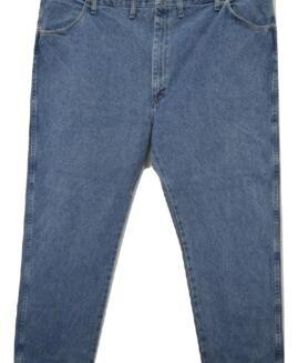 Pantalon jeans marime mare, 48 x 30 american, RUSTLER