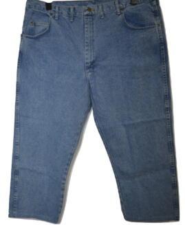 Pantalon marime mare blugi, jeans american 44 X 30 WRANGLER rugged wear