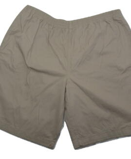 Pantalon scurt-bermude bumbac, cu talie elastica, xxxl american