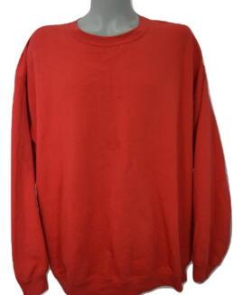 Tricou bumbac captusit, xxxxl american, GILDAN rosu - talie 170 cm