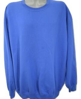 Tricou bumbac captusit, xxxxl american, GILDAN albastru – talie 170 cm