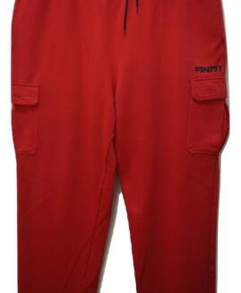 Pantalon trening bumbac captusit, xxxl american, AND 1 - talie 110 - 150 cm