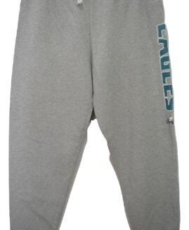 Pantalon trening bumbac captusit, xxl american, NFL EAGLES talie 100 - 170 cm