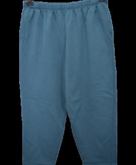 Pantalon trening bumbac captusit, xxl american, WOMAN WITHIN talie 100-170 cm
