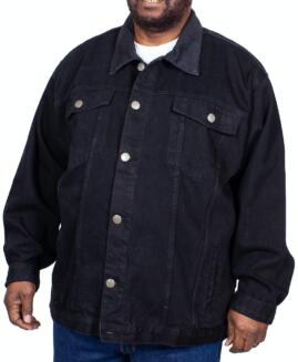 Geaca jeans model clasic, xxxxxl american, LOYALTY AND FAITH - TALIE 190 CM